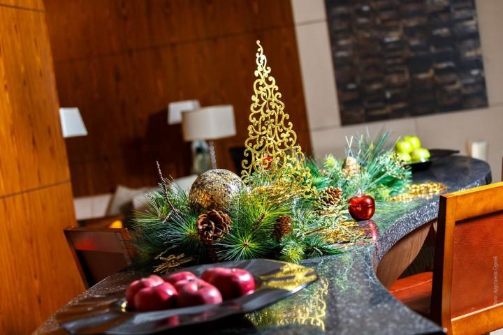 Новый год 2015 в Intercontinental Moscow Tverskaya